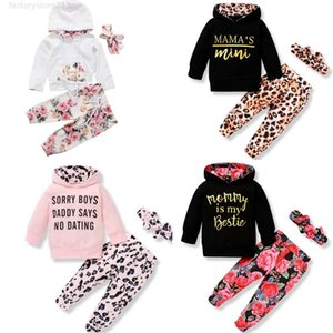 9 Style baby Kids Clothing Sets girl Flowers Casual Hoodies long Sleeve