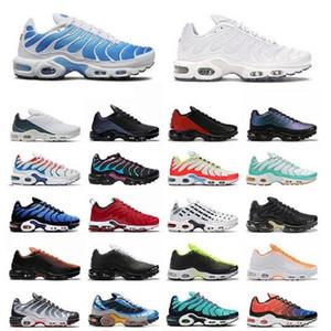 TN Plus SE Koşu Ayakkabıları Erkek Eğitmenler Için Psişik Hiper Üçlü Siyah Mavi Gerilim Mor Pimento Sarı Parlak Erkekler Açık Spor Sneaker