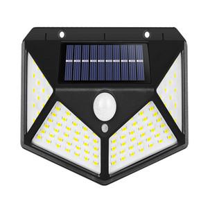 LED solar outdoor landscape lighting IP65 waterproof garden courtyard driveway wall light body sensing corridor light