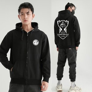 2020 S10 finals Ig Sn sweater tes team uniform FPX Plush zipper jacket