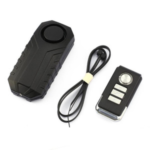 Wireless Remote Control Alarm Bicycle Electric tricycle  New Energy Car Vibration and Displacemnt Alarm Safety Lock