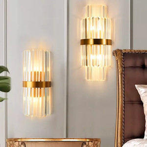 Modern LED Indoor Wall Lamps For Bedroom Bedside Livingroom Decoration Wall Sconce Bathroom Home Lighting Golden Wall Light