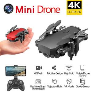 Дроны D2 Складной 4K Мини RC Дрон с широкоугольным Wi-Fi HD Camera QuaderoCopter Вертолет VS Teeggi M69G Visuo XS809HW E58 M691