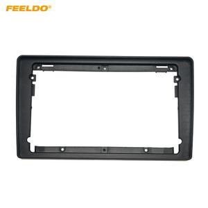 "FEELDO Car Audio Radio 9"" Big Screen 2DIN Fascia Frame Adapter For Lada Granta 2011 DVD Player Dash Fitting Panel Frame Kit #1792"