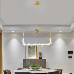 Modern Brass Copper Crystal Pendant Light Home Living Room Dining Room Bedroom Chandelier Decor Lighting Fixture PA0755