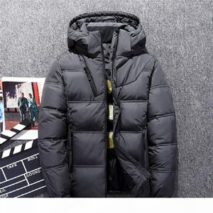 Hot Sale Male Down Jacket Thick Hooded Windproof 2018 Winter jacket men Warm Snow coat Casual Men Clothing 2018 Plus Size M-3XL