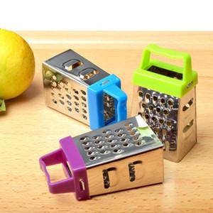 Fruit râpe de légumes en acier inoxydable manuel de citron fromage fruit légume chopper râpe glaqueur machine d'accessoires de cuisine