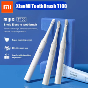 XIAOMI MIJIA T100 Sonic Electric Toothbrush Cordless Rechargeable Waterproof 2 Speed Whitening Oral Care Automatic Tooth Brush