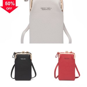 POCHETTE ACCESSOIRES Designer ll Purse neck bag Fashion Womens Canvas Shoulder Casual Bag Lychee pattern Cell Pouch Handbag Evening Clutch p