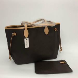 2019 Nuevas mujeres bolsos de cuero femenino madre paquete bolsa mano madre billetera de embarque bolsa bolsa bolsa + bolsa pequeña N51106 M40157