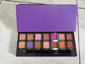 Paleta de sombra de ojos modernos de maquillaje caliente 14 colores paleta de sombra de ojos limitados con cepillo sombra de ojos paleta 8 estilos