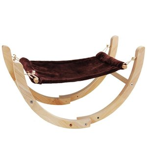 Cat Rocking Chair Cat Bed Pet Hammock Rolling Cradle Swing Toy for Small Baby Kitten FAS6