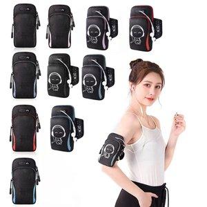 Koşu Erkekler Kadınlar Kol Çanta Telefon Para Keys Açık Spor Kol Paket Çantası Kulaklık Delik 4-6.5 inç Telefon Ile