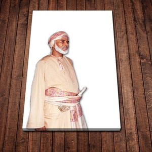 Fashion Qaboos Bin Said Al Said Head of State Poster Poster and Prints Canvas Painting on Wall Art Modern Picture for Home Room Decoration