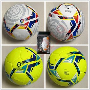 20 21 Best quality Club La Liga League match Soccer ball 2020 2021 size 5 balls granules slip-resistant football Free shipping high quality