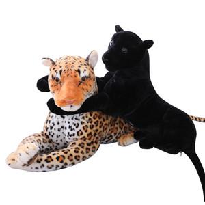 التماثيل الاصطناعية ليوبارد ألعاب محشوة الحيوانات وهمية الحيوانات اللعب دمية رمي وسادة الهدايا الإبداعية