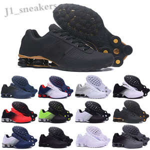 Nike Air Max Shox 809 2019 entregar 809 hombres de los zapatos corrientes de aire gota libres famoso ENTREGAR OZ NZ Mens zapatos atléticos de las zapatillas de deporte 40-46 UP03