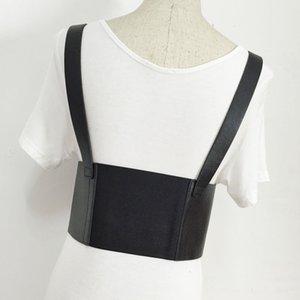 HATCYGGO Womens Sexy Elastic Garter Belt Cage Sculpting Harness Waist Adjustable Suspender Straps Slim Body Jewelry Waistband 201120