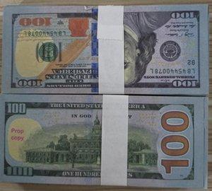 Money Money 03 Fake New100 Pretend Paper For Banknote Copy Prop Money Paper Bills Wholesale Collection Dollar 100pcs pack Fcftp