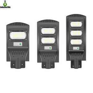 Solar Street Light 30W 60W 90W 120W Grey Motion Sensor Waterproof IP66 Wall Lamp Outdoor Road Light with pole remote control