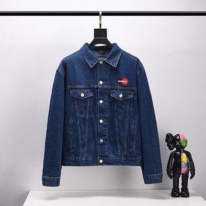 Luxury Mens Designer Jacket Men Women High Quality Print Denim Jacket Mens Designer Coat women tops Black Blue Jean Jackets Size S-5XL
