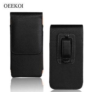 Clip a nastro oekoi clip in pelle PU Holder flip custodia flip custodia per BlackBerry 9720/9790 BOLL / 9360 curva / 9370 curva / 9380 curva