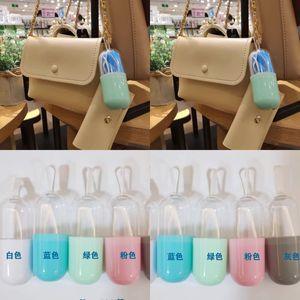Şeffaf Yüz Maskesi Saklama Kutusu Plastik Mini Taşınabilir Tek Kullanımlık Ağız Maskeleri Kutusu Çok Renkli Sıcak Satış 1 19zh J2