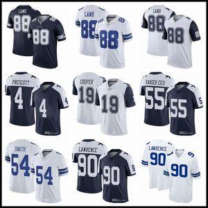 88 CEEDEE AGAM 4 DAK PRESCOTT DALLASMaillots de football Cowboys55 Leighton Vander Esch 19 Amari Cooper 21 Ezekiel Elliott 54 Smith