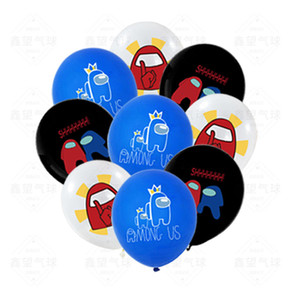 Among Us Balloons Game Party 12 inch latex ballons Happy Birthday Party Decoration kids Party Gift 100pcs
