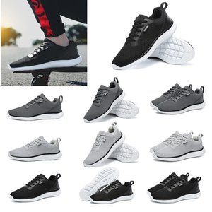 2020 Newest Brown Type1 Flame Gray White Red Black Lace Soft Cushion Young Men Boy Running Shoes Low Cut Designer Trainers Sports Sne