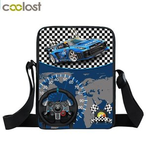 Cartoon Car Crossbody Bag Mini Messenger Bag Boys School Bags Kids Shoulder Bags For Snacks Children Schoolbags Bookbag