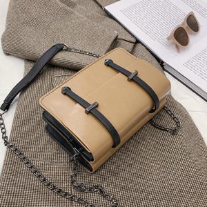 Vintage Flap Leather Shoulder Crossbody Messenger Bags Women 2021 Chain Tote FemaleHandbags Purse Travel Luxury Design