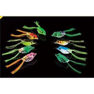 NUEVO SOFT RABRY RAY FROG Snakehead LURE 8G-4.5 CM 11G-5CM 14G-5.5 CM 3 Tamaño Top Agua Lifelike Fro BBYTEZ BDEPACK2001