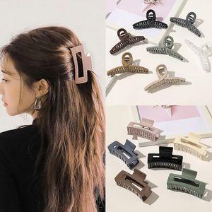 Clip per capelli vintage per donne semplici artigli clip grandi clip geometrici per capelli ragazze barrettes capelli accessori per capelli