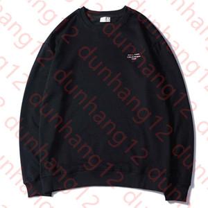 Herrenkleidung Homme Hoodys Mens-Frauen-Stylist Brief Stickerei Hoodies High Street Pullover Sweater M-2XL