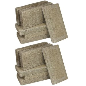 US Stove FireBrick 4.5 x 9 x 1.25 Inch Wood Stove Ceramic Fire Bricks (12 Pack)