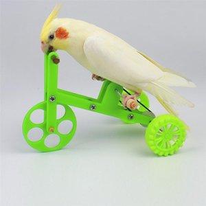 1pc Jouer drôle Playing Intéressant Toy Bike Bird Fournitures d'oiseau Parrot Formation Props pour oiseaux