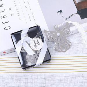 Creativo metallo nastri segnalibro cavo angelo aquila aquila acciaio inox segnalibri di cancelleria regalo aziendale regalo di nozze festa doccia AHF3989
