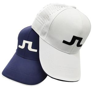 2020 verano nuevo jl sombrero de golf hombres y mujeres ajustable deportes al aire libre sombrero de golf sombrero tenis sombrero transpirable envío gratis Q1201