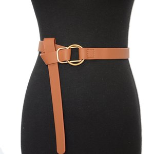 Women Designer Wide Fashion Belt Obi Female Leather Wedding Corset Tailleband Taille Women's Belts For Leisure Tie Dress Boog Band Rwaln