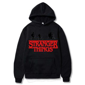 Strange Story Stranger Things men's casual hoodie hooded sports jacket and cashmere pullover sweater