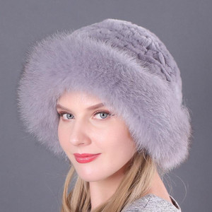 Womens Autumn Winter Fashion Vintage Fur Keep Warm Luxury Hats Casual Cute Novelty Thicken Cap Wholesale 2020 New Korean Trend