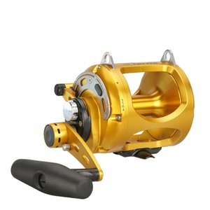 오쿠마 미끼 주조 릴 낚시 기어 4 + 1BB 더블 푸시 캐스트 드럼 휠 알루미늄 합금 바다 낚시 휠 Bastcasting Pesca