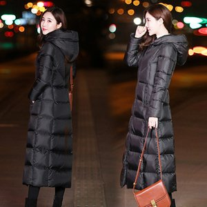 New Winter Jacket Female Parka Coat Feminina Long Down Jacket Plus Size Long Hooded down cotton Coat Jacket Women 201125