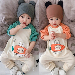Newborn Baby Child Spring and Autumn Jumpsuit Clothes Baby Girl Boys Clothing Thin Romper Autumn Long Sleeve Outing