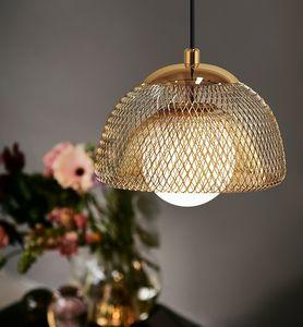 Nordic Creative Glass Ball Led Chandelier luzes Dining Sala Quarto Bedside Pingente Lâmpadas Única Cabeça Cabeça Pequena Iluminação de Candelabro