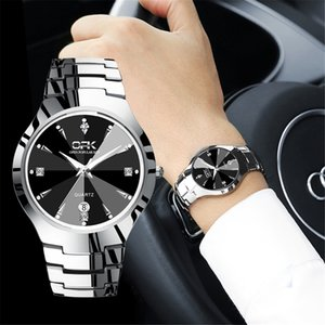 Relojes Watch Men OPK Fashion Sport Quartz Clock Top Brand Stainless Steel Waterproof Watch Relogio Masculino 201204