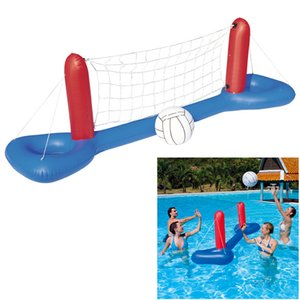 Inflatable Pool Float Toys Set ForAdults Children Football Volleyball Basketball Games Circle Swimming Ring Water Mattress Party Z1202