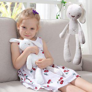 53CM White Pink Soft Rabbit Plush Toys Stuffed Animals Kids Toys for Children Birthday Gifts Party Decor