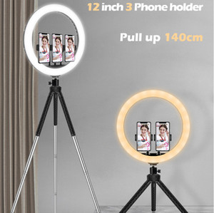 Nuovo prodotto Beauty Fill Light Live Photography Ring Selfie Light Mobile Phone Stand Desktop Floor Treppiede